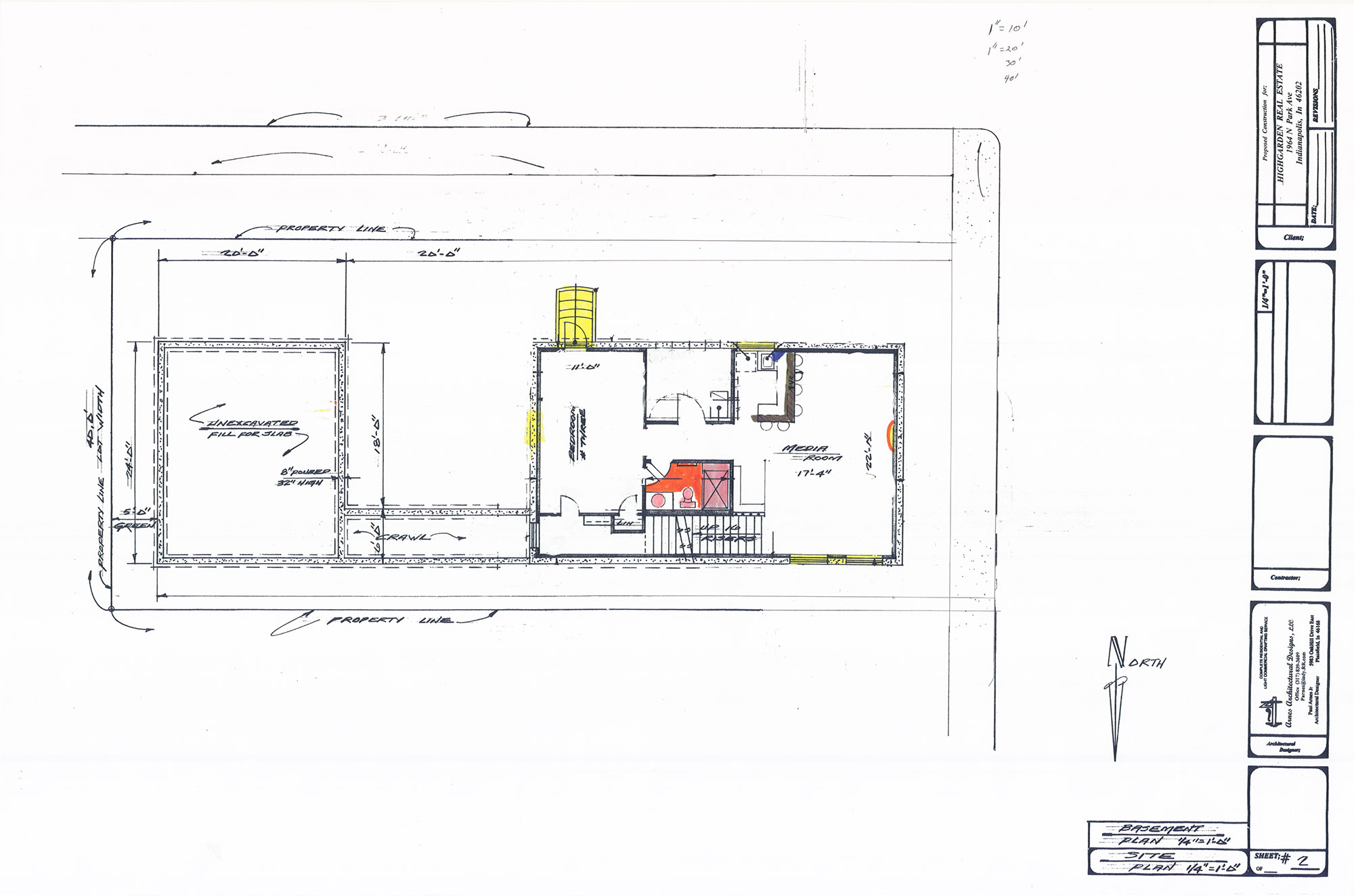 House Concept Drawing 8
