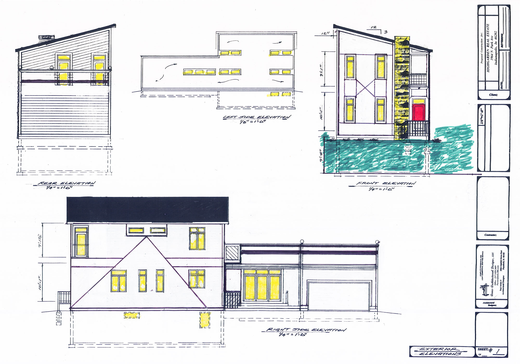 House Concept Drawing 2