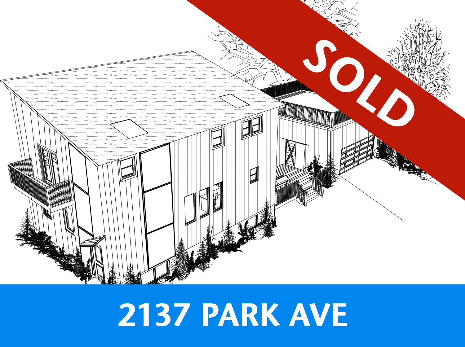 1964 Park Ave Property SOLD Graphic