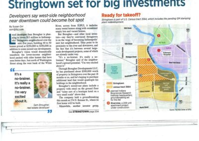 Indianapolis Business Journal - Stringtown Story - Page 2