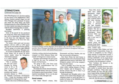 Indianapolis Business Journal - Stringtown Story - Page 3